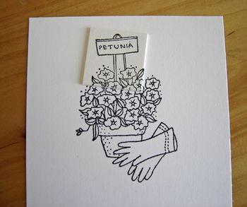 Petunias-sign