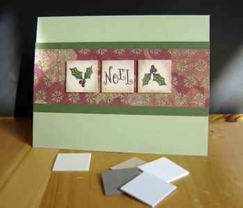 Holly-card