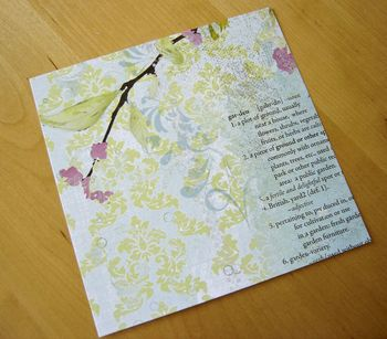 Garden-paper