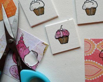 Close-up-cupcake