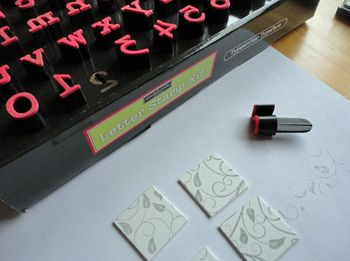 Letter-stamp