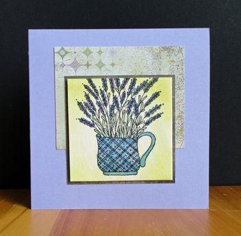 Lavender-vase