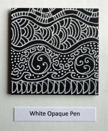 White-opaque-pen