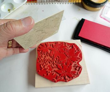 Stamp-with-pigment-ink