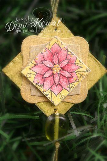 Dina-ornament