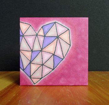 Triangle-heart