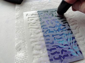 Texture-stencil